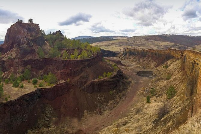 Racos Volcanic crater