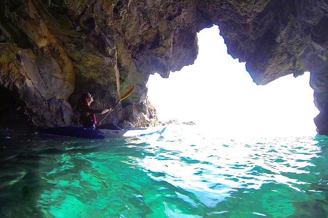 Tour guiado de kayak y esnórquel en Ponta de São Lourenço