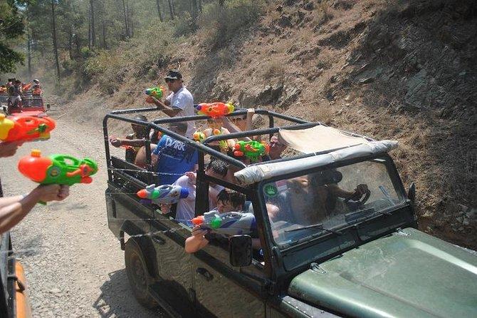 Icmeler Jeep Safari, Turgut Waterfall, Jesus Beach