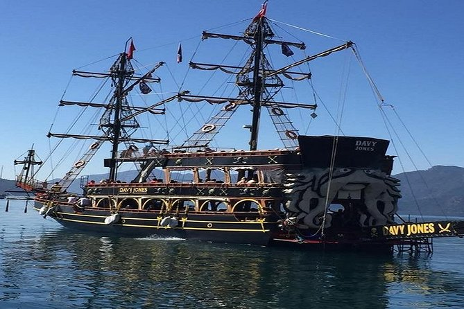Icmeler All Inclusive Pirates Boat Trips