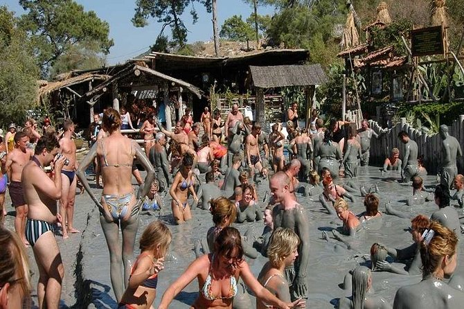 Dalyan Turtle Beach - King Tombs - Mud Bath From Icmeler