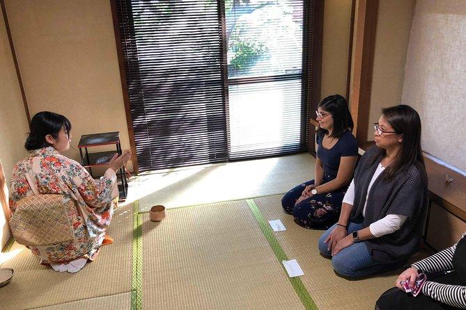 Tea ceremony, calligraphy and shrine experience