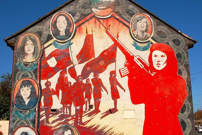 The real black cab tourFalls & Shankill Road mural & political tours 2hours