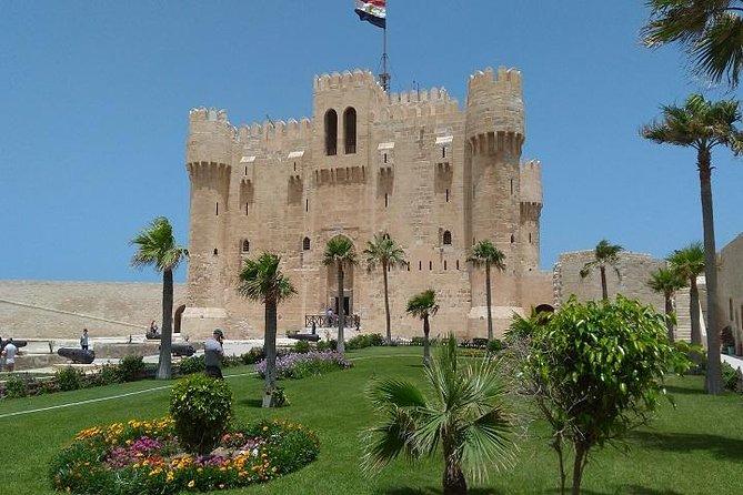 Alexandria Library & Pompeii's Pillar Montazah Palace Citadel of Qaitbay