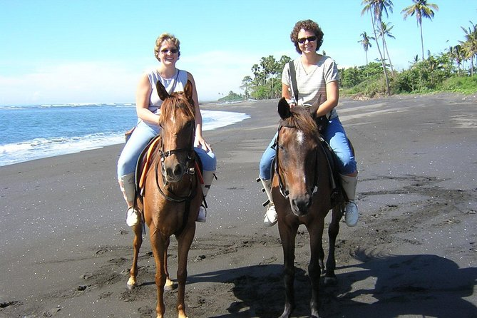 Enjoy Bali Horse Riding on the Beach including Volcano and Ubud Tour