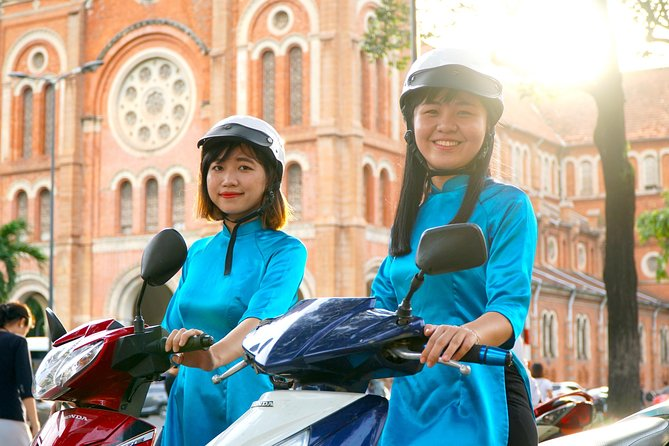 ⭐️ #GirlPower Scooter City Tour (Full Day) in Ho Chi Minh city | Kiss Tours
