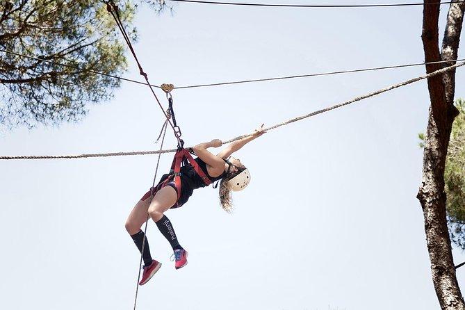 ¡Vive tu aventura en Roma con Rope Challenge en Tree Top con Zip Line!