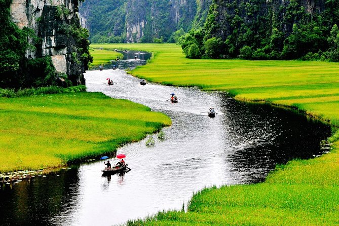 Hanoi to Tam Coc and Hoa Lu Ancient Capital Day Tour