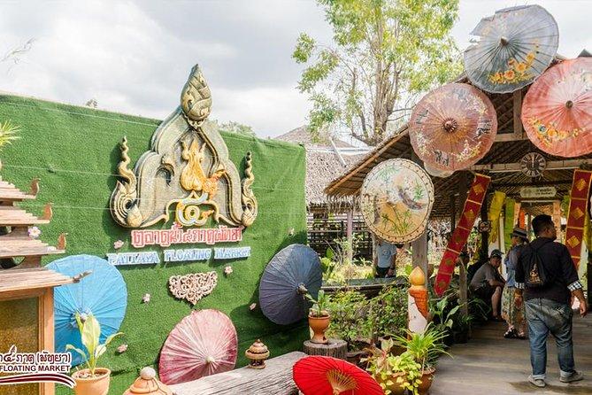Billet d'admission pour le marché flottant de Pattaya
