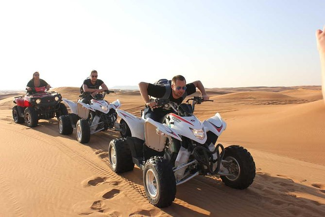 Quad Bike Ride and Evening Desert Safari wd BBQ Dinner, Camel Ride, Live Shows photo 8