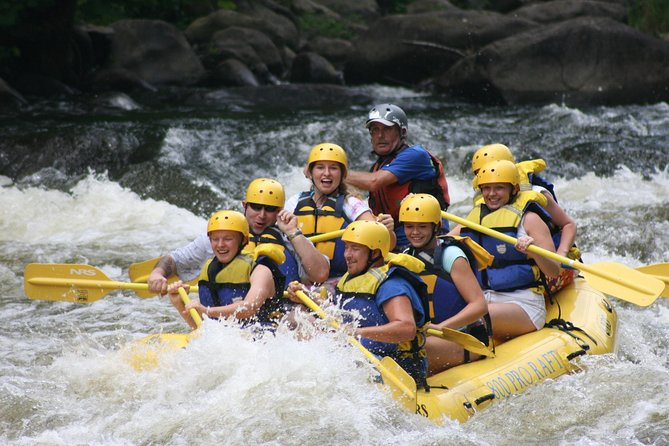 White Water Rafting on Telaga Waja River