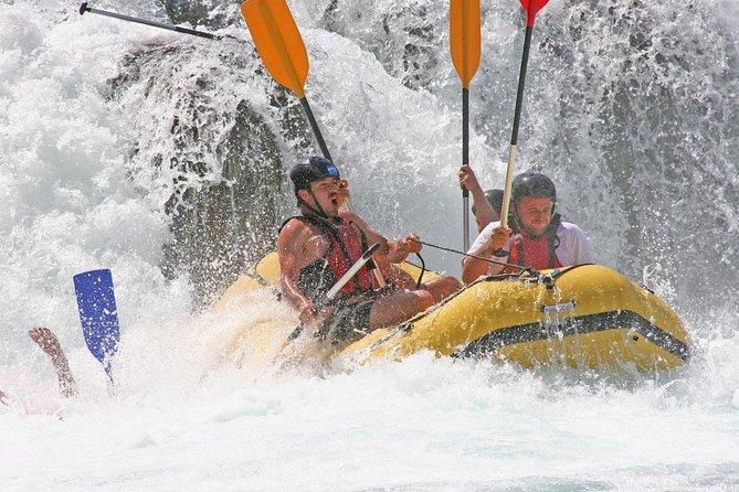 White Water Rafting on Telaga Waja River