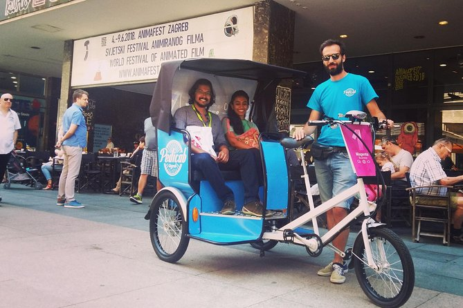 Private Zagreb Pedicab Tour