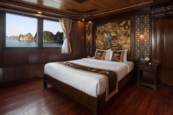 Bai Tu Long Bay 3-Day Luxury Cruise with Meals, Activities, and Hanoi Pickup