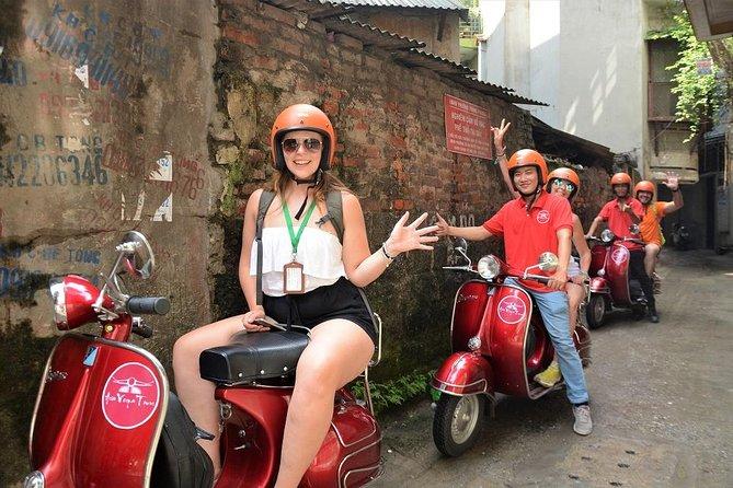 Hanoi Backstreet Tours City On Vintage Vespa Half Day