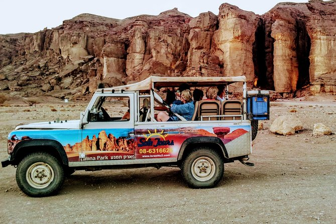 Timna park Jeep tour adventure photo 1