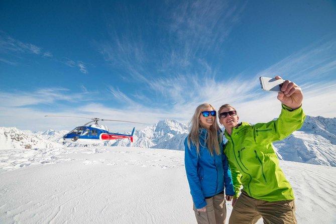 Vol en hélicoptère Mount Cook et The Glaciers