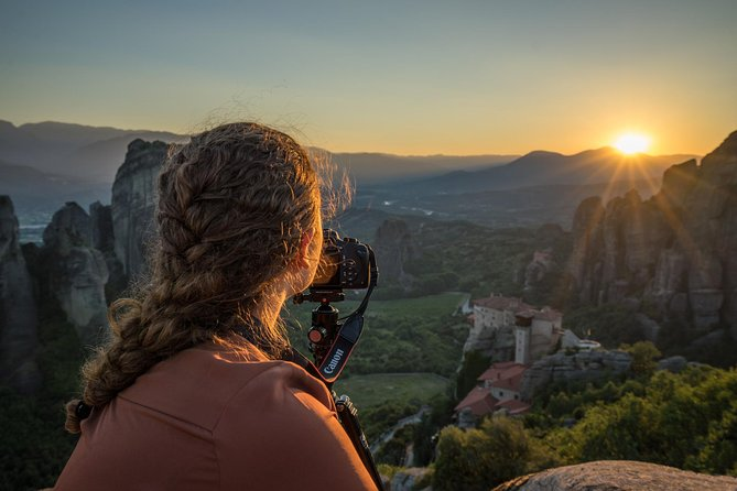 Sunset Meteora Private Photography Tour