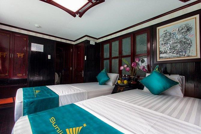 Lan Ha Bay cruise 2 days 1 night with 5 Cabin Junk
