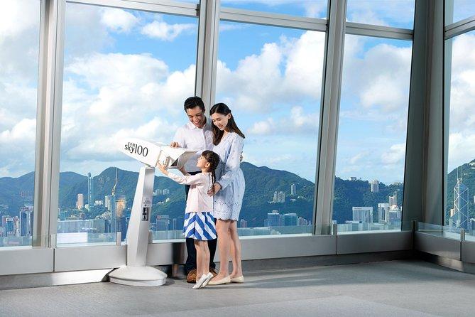 Boleto de admisión a la plataforma de observación sky100 Hong Kong