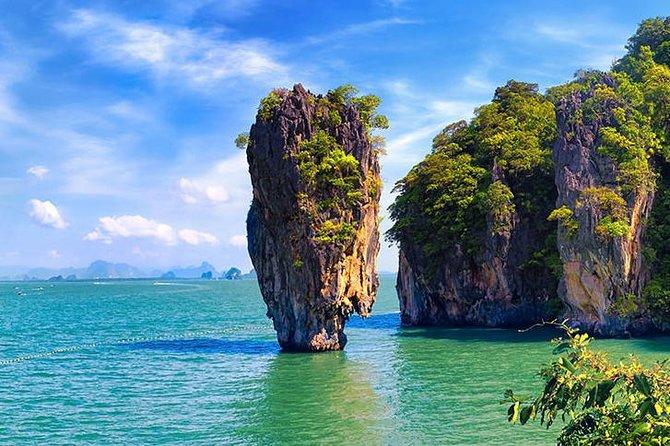 Premium Sea Canoeing Trip at Phang Nga Bay Speed Boat Tour