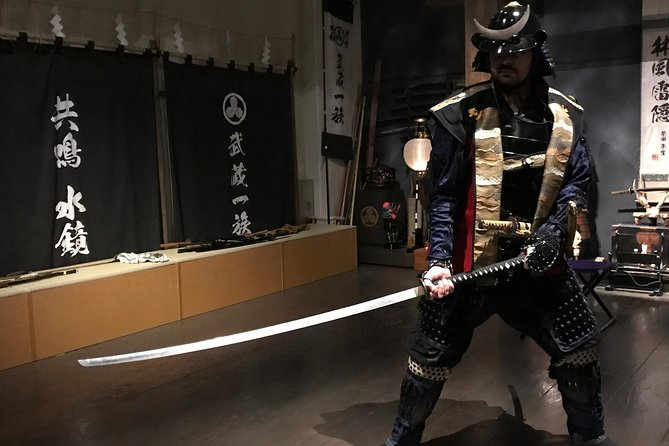 Wear a Samurai Armour on your event. (upto 4 hours)