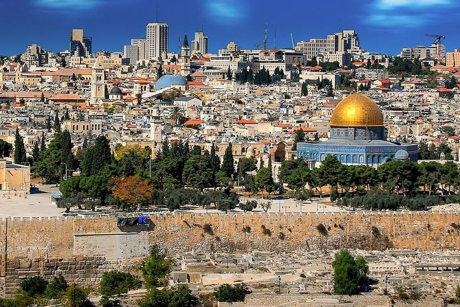 Half Day Holy Jerusalem Trip from Tel Aviv
