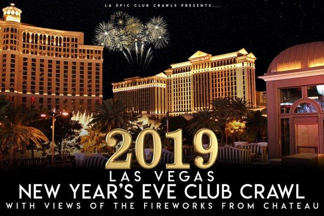 Las Vegas New Years Eve Club Crawl at Chateau Nightclub 2019