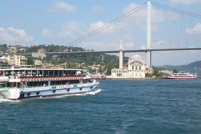 Bosphorus Full-Day Tour: Bosphorus Cruise, Piyerloti Cable car, and Dolmabahce Palace