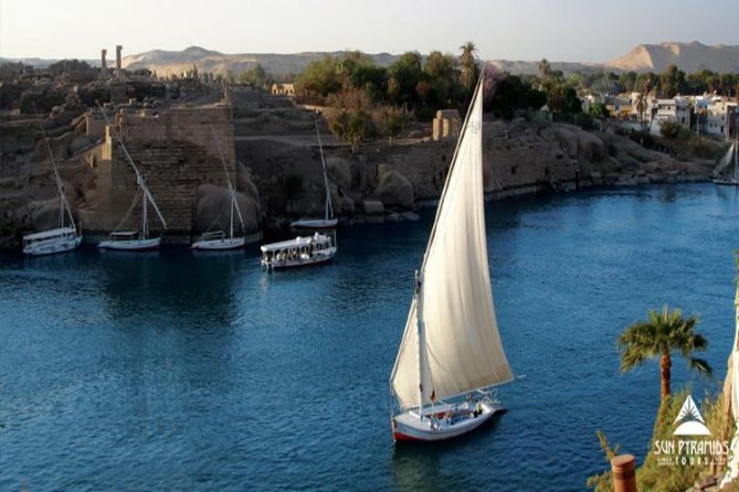 Felucca Ride on The Nile in Aswan in Egypt