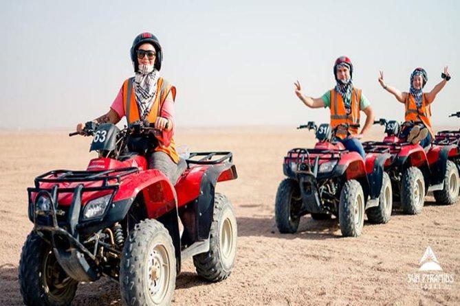 Morning Quad Bike Desert Safari in Marsa Alam