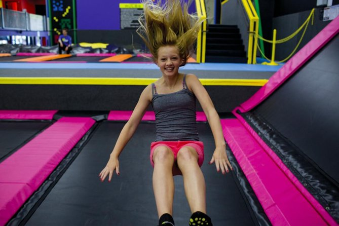 Admission Ticket to TopJump Trampoline & Extreme Arena - One Hour Arena Time