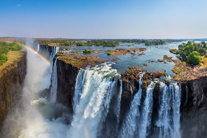Full Day Victoria Falls incl transfers from Kasane 12h Guided Tour of the Falls
