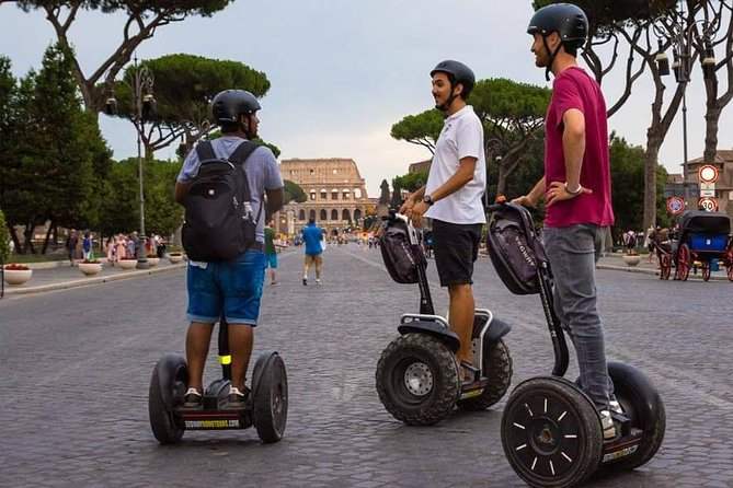Small-Group Guided Segway Tour of Rome from Civitavecchia Port