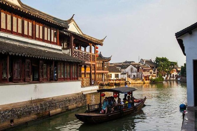Shanghai Half Day Tour of Zhujiajiao Water Town