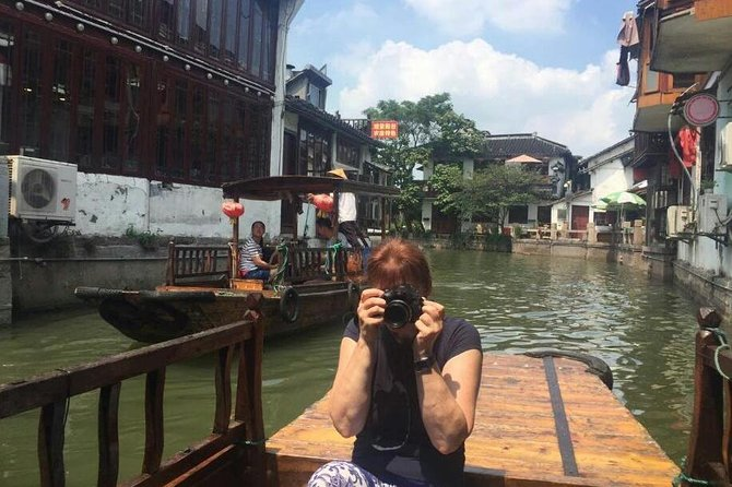Shanghai Day Tour of Zhujiajiao Water Town and City Sightseeing