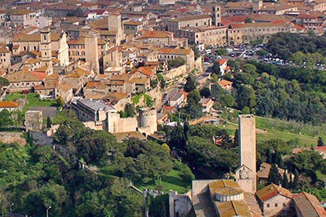 Tarquinia & Tuscania from Civitavecchia