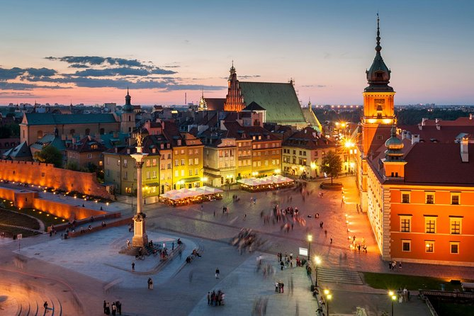 Warsaw Old Town with Royal Castle + Royal Route: SMALL GROUP /inc. Pick-up/