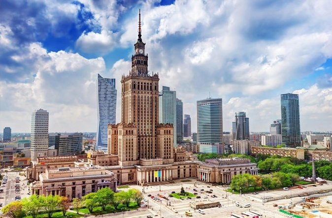 Palace of Culture & Science + Wilanow Royal Palace: SMALL GROUP /inc. Pick-up/