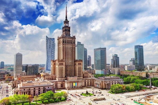 Palace of Culture & Science + Wilanow Royal Palace: PRIVATE TOUR /inc. Pick-up/