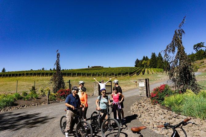 E Bike Wine Tour