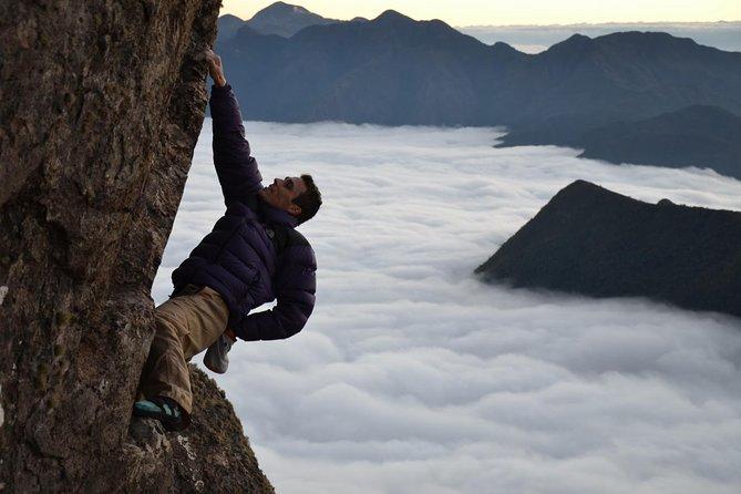 Um dia de escalada com Felipe Guimarães