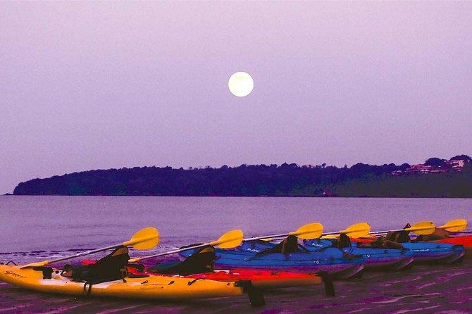 Moonlight Kayaking in Goa at Bambolim