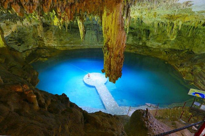 Cave cenote where you will swim