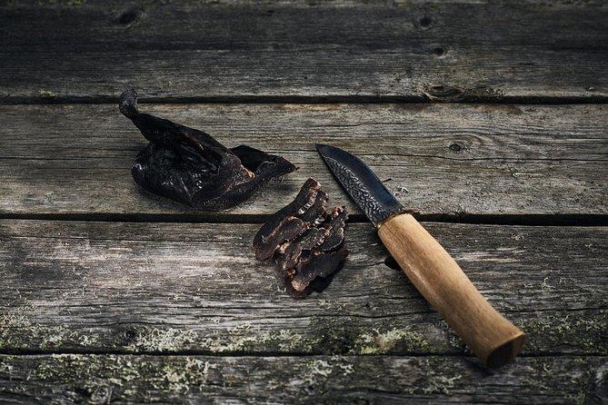 Lappish meat smokery visit and tasting