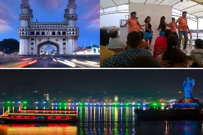 Private Half Day Tour: Dinner cruise, Old city shopping ride & Laser show