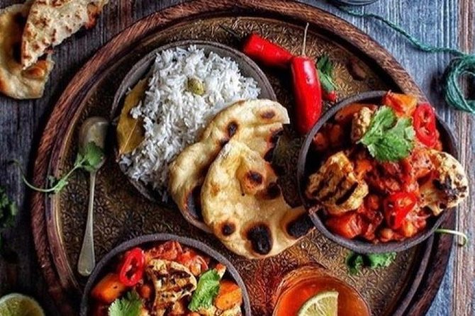 Fine indian dinner