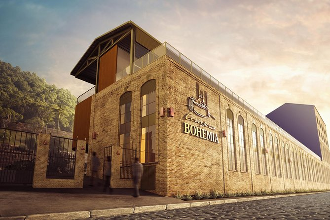 Cervejaria Bohemia Admission Ticket with Guided Tour
