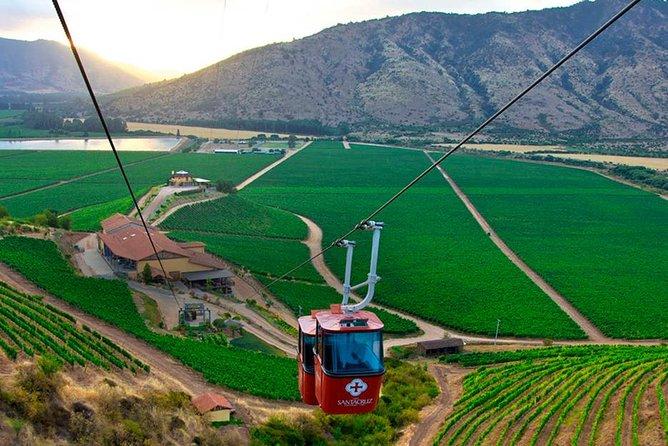 Private Tour into the Heart of Chilean Wine Country: Santa Cruz & Viu Manent