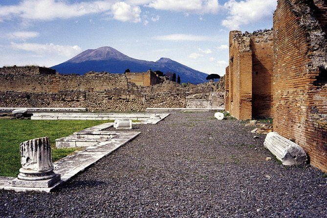 Grand Tour Pompei Herculaneum Vesuvius in One Day